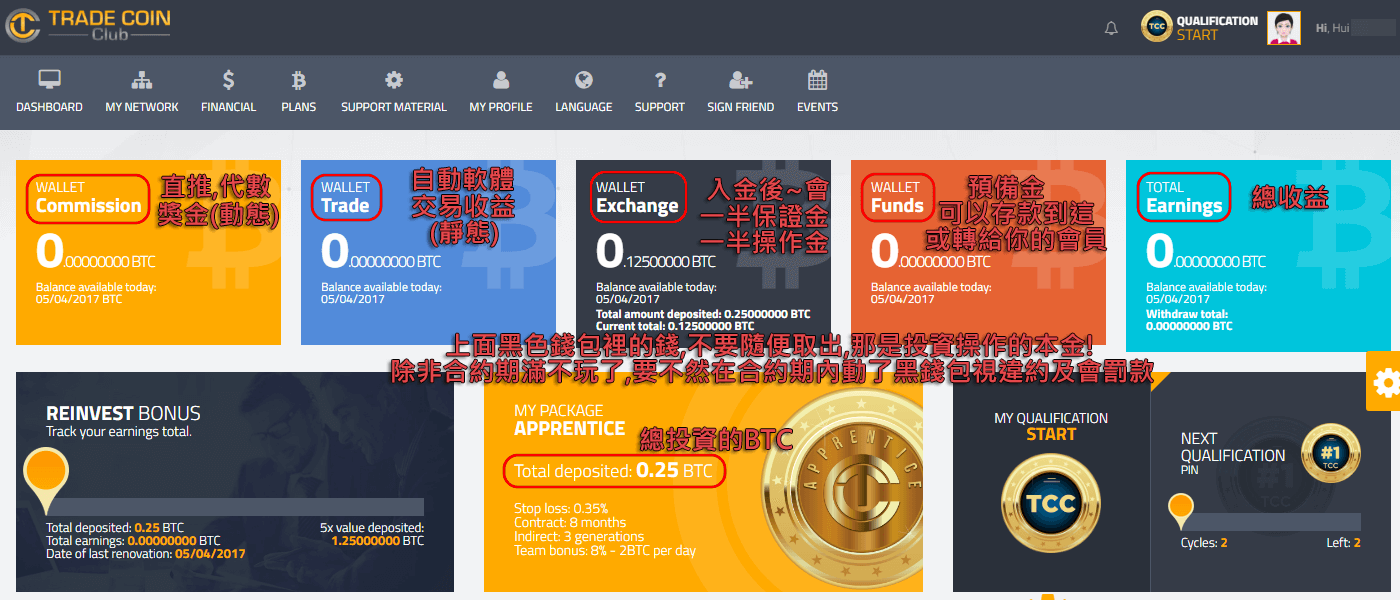 office trade coin club login